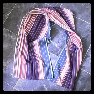 Accessories - Used handmade scarf, striped, good condition